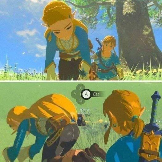 ¿Qué quiere comer Link?